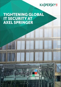 REFUERZO DE LA SEGURIDAD DE TI GLOBAL EN AXEL SPRINGER